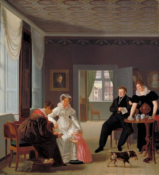 The Winther Family, 1827