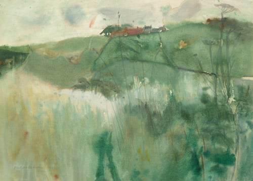 Landscape with Cow Parsley