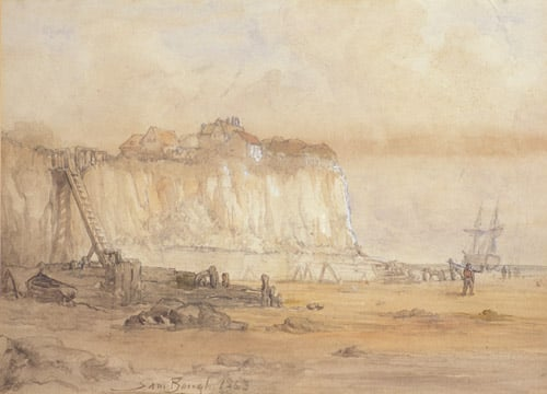 Landscape with Cliff