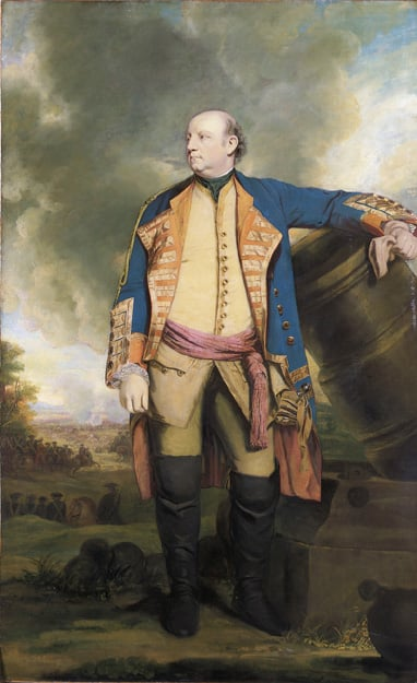 Portrait of the Marquess of Granby