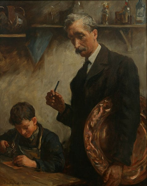 Young Apprentice (Newlyn Copperworks)