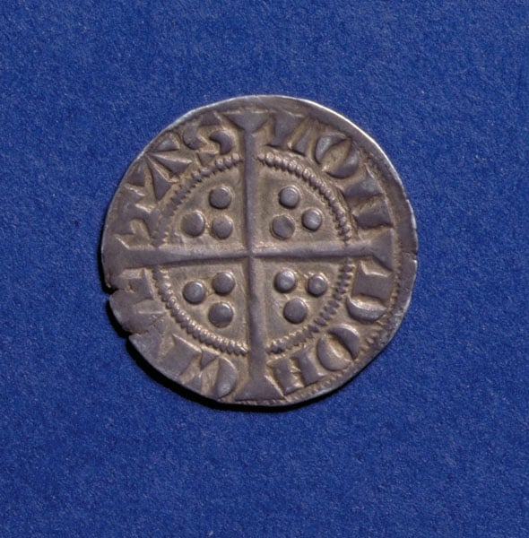 Collection of medieval coins