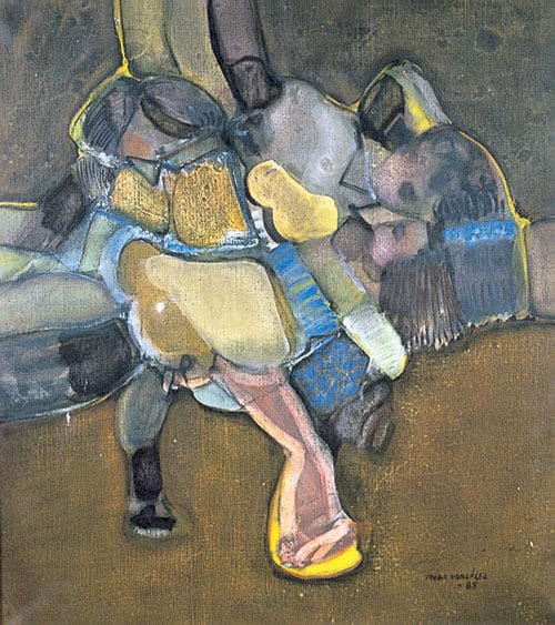 Untitled Abstract of Figures