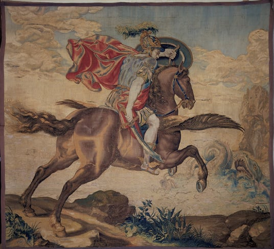 Tapestry: Perseus and Andromeda