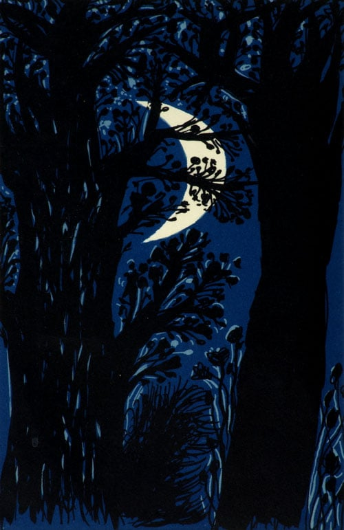 Six lithographs to illustrate 'The Poet's Eye'