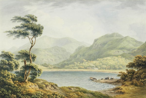 The Upper End of Coniston Lake, Lancashire