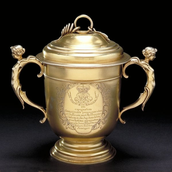 Queen Anne cup and cover