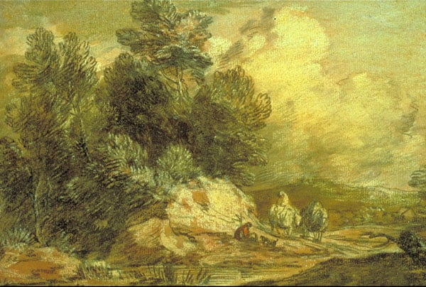 A Wooded Landscape with Horsemen