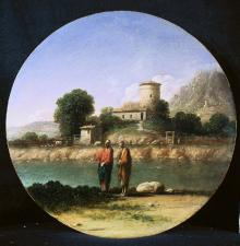 Landscape with Christ and St John the Baptist