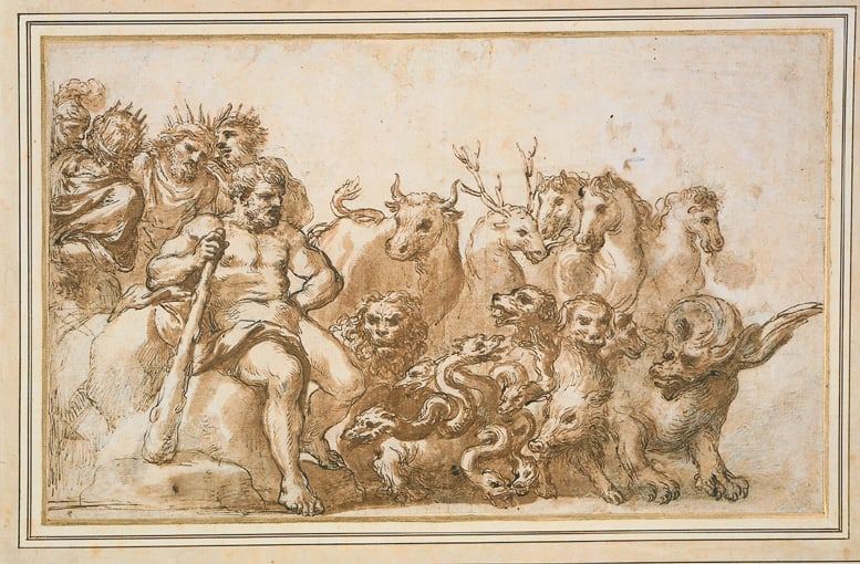Allegory of the Labours of Hercules