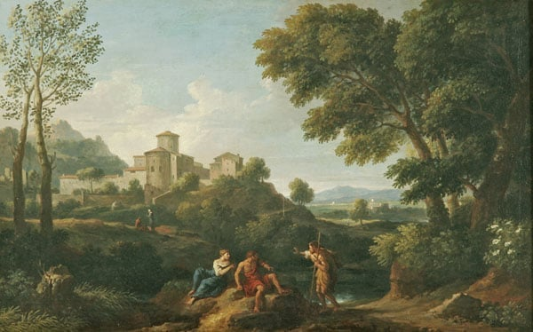 Southern Landscape with Figures