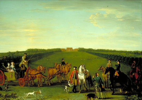 The Beauchamp-Proctor Family and Friends at Langley Park, Norfolk