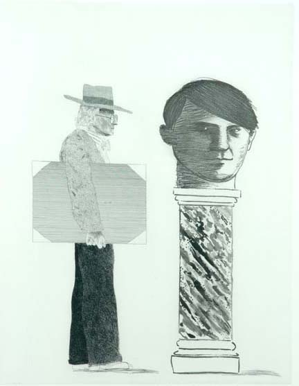 The Student: Homage to Picasso
