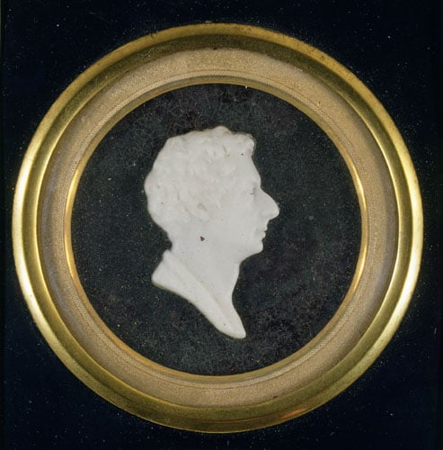 Medallion of Robert Southey