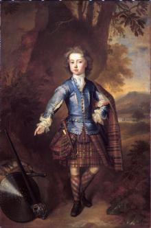 Portrait of John Campbell, later 3rd Earl of Breadalbane as a Child
