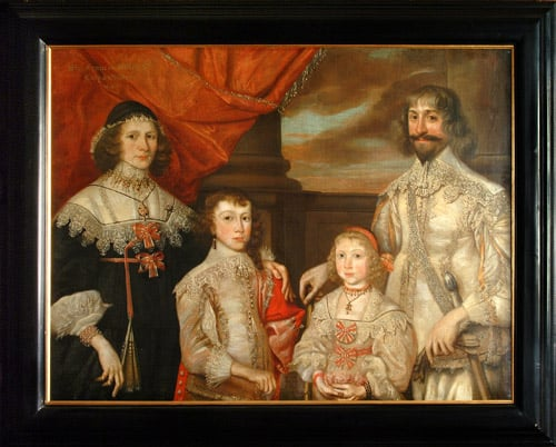 Portrait of Sir Francis Ottley and His Family