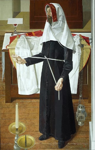 Vesting Priest with Apparelled Amice