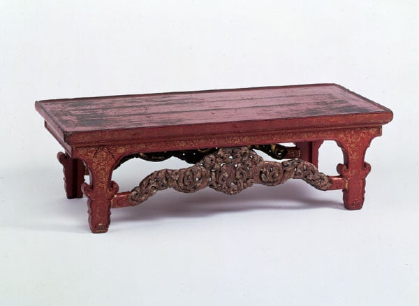 Ming lacquer table