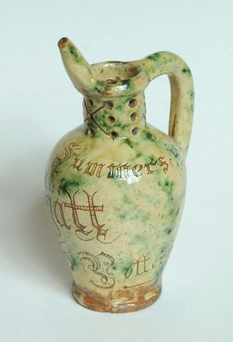 Collection of commemorative pottery The Berthoud Cup Collection