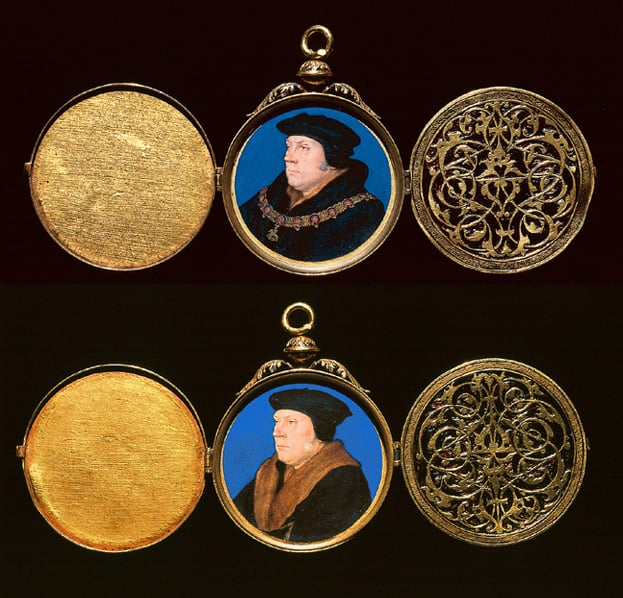 Two portraits of Thomas Cromwell, Earl of Essex