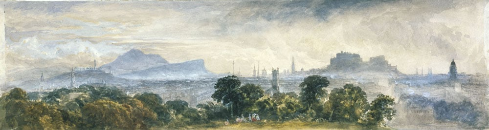 Extensive View of Edinburgh from Inverleith