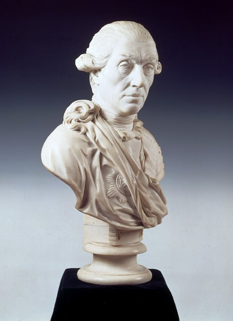 Bust of General Sir Eyre Coote, Commander in Chief of the Army in India