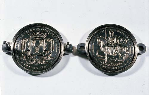Pair of Silver Seal Matrices