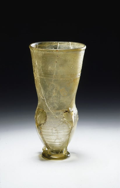 Anglo-Saxon claw beaker