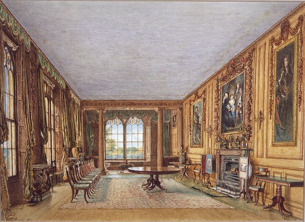 The Winter Dining Room