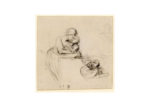 Two studies of a mother and child