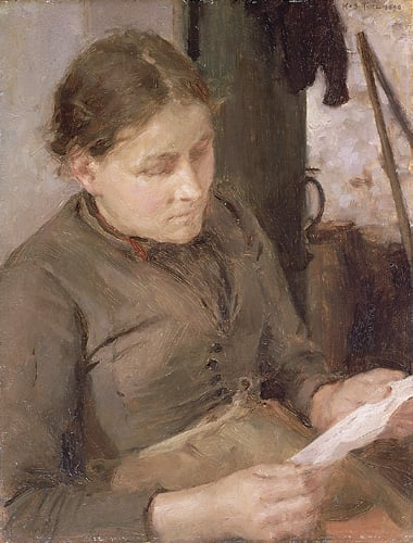 Study for The Message - Mrs Fouracre