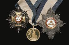 Lord Northesk's smallsword and medals