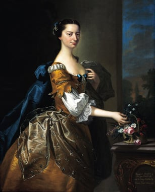 Margaret, Daughter of Sir George Chudleigh, wife of Henry Oxenden Esqr