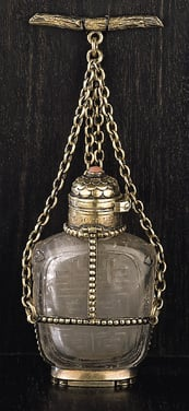 Snuff bottle adapted by William Burges