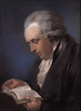 Portrait of the Rev Thomas Russell