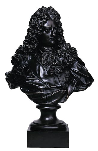 Bust of Philippe d'Orleans, Regent of France