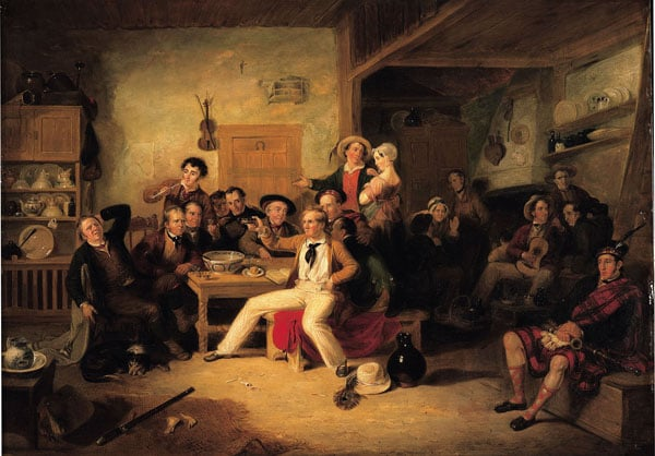 The celebration of the birthday of James Hogg