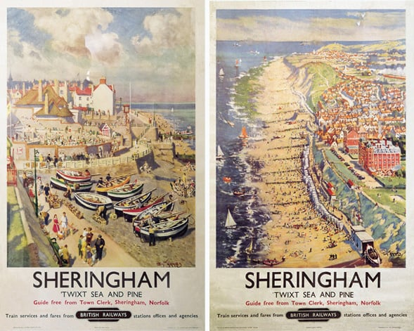 Two posters of Sheringham