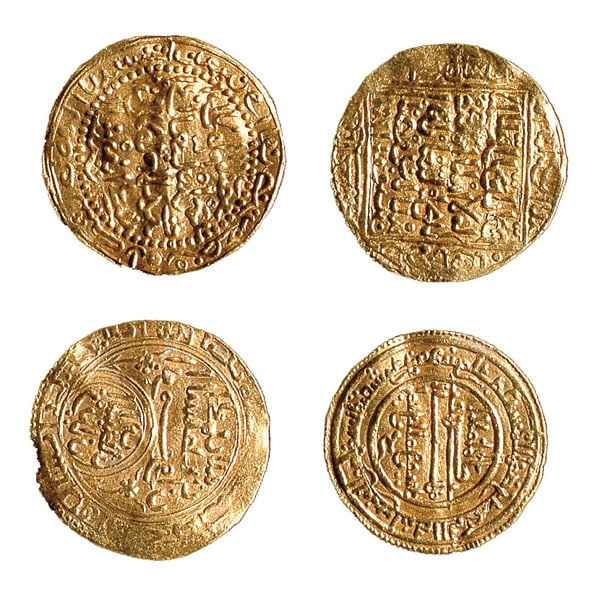 Coins from the Salcombe Treasure