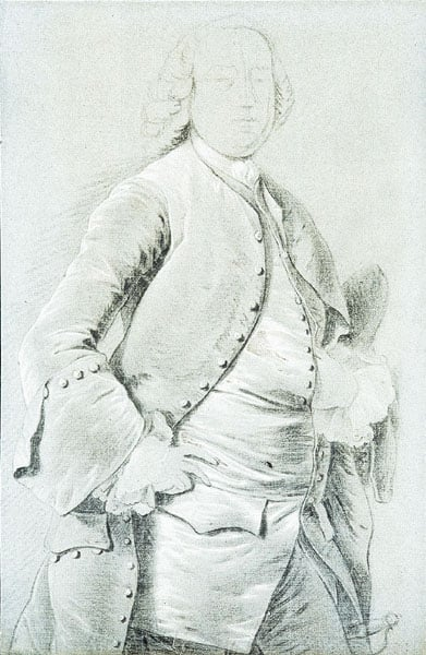Folio of drawings by and associated with Joseph Wright of Derby