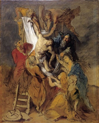 'Descent from the Cross' after Sir Peter Paul Rubens