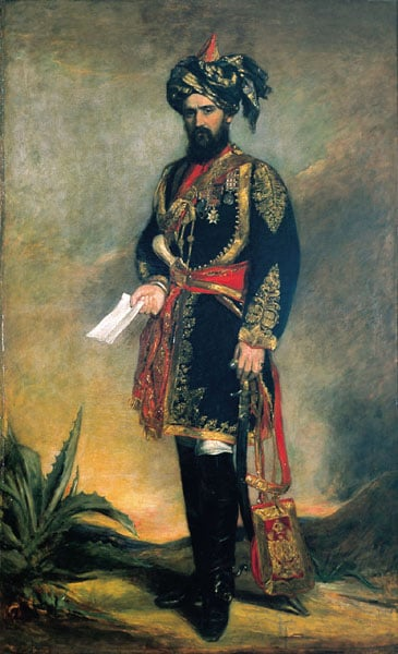 Colonel Probyn, CB, VC, and Honorary ADC to the Viceroy of India and HM's Indian Cavalry