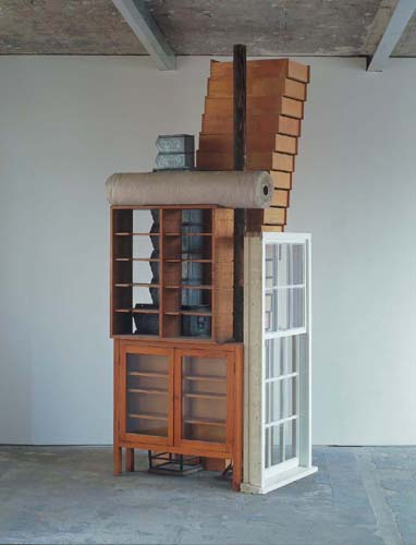 Untitled (3 ft x 4 ft Stack with Window Casement)