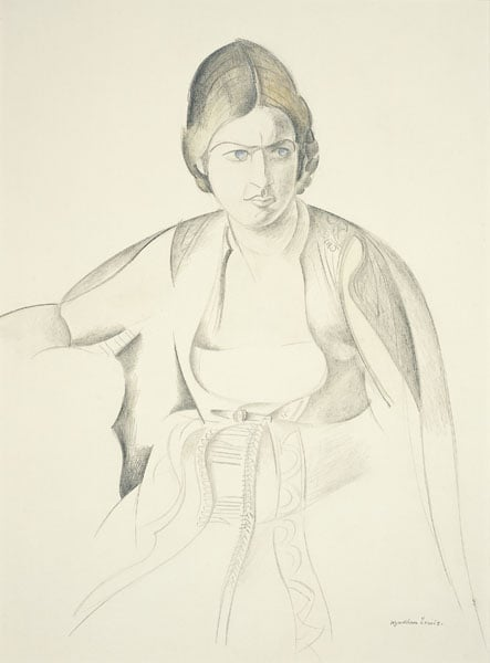 © Wyndham Lewis and the estate of the late Mrs G A Wyndham Lewis by kind permission of the Wyndham Lewis Memorial Trust (a registered charity)
