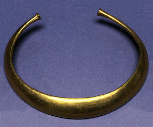 Two neckrings from Chickerell