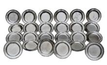 Service of 24 pieces of dining plate