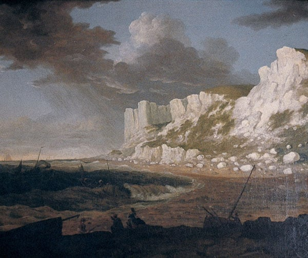 Coast Scene with Approaching Storm
