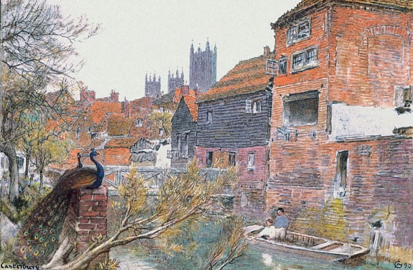 Canterbury from the River Stour
