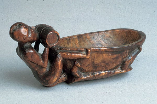 Native North American Carved Ladle