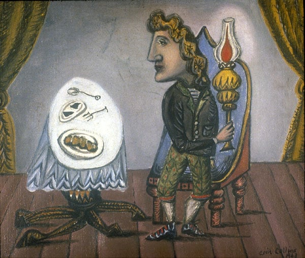 The Man with the Lamp